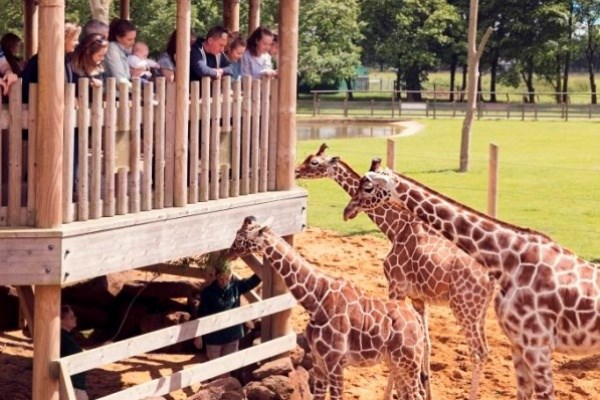 Family Entry to ZSL Whipsnade Zoo