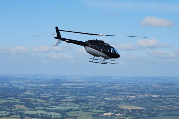 10 Minute Helicopter Flight for One Special Offer