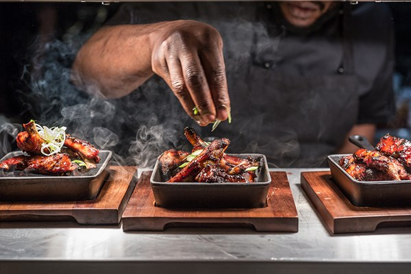 Six Dish Sharing Menu with Glass of Wine for Two at Leicester Square Kitchen