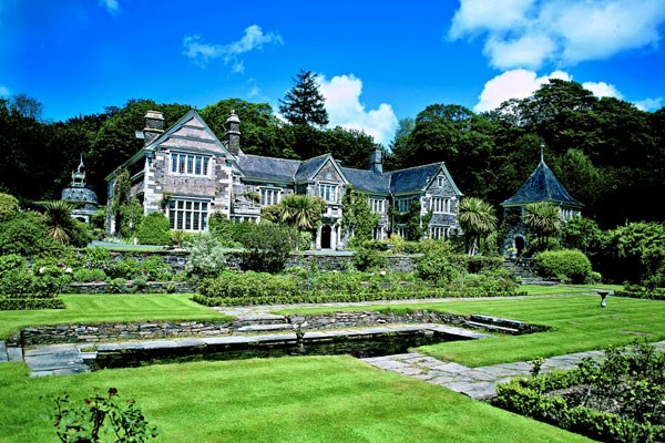 Champagne Afternoon Tea for Two at Lewtrenchard Manor