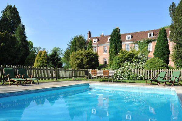 Champagne Afternoon Tea for Two at New Park Manor