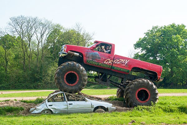 image of Extended Monster Truck Driving Experience