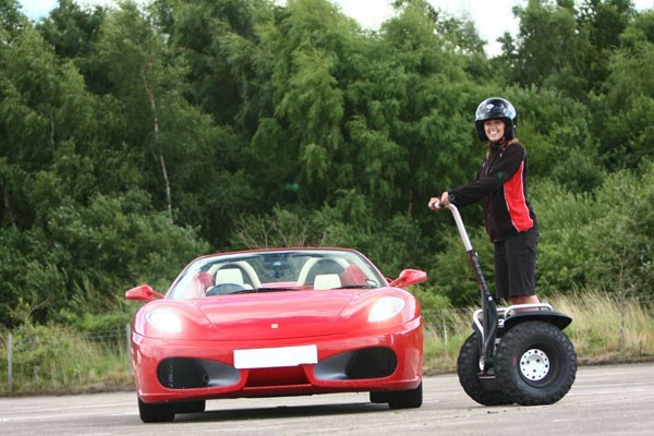 image of Supercar Drive and Off Road Segway Experience