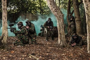image of Full Day Paintballing for Four