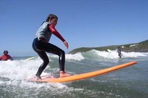 Half Day Surfing.