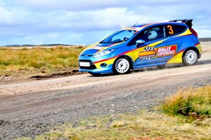 Rally Driving Experience at Knockhill at Buyagift