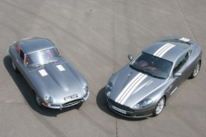 Click to view details and reviews for Jaguar E Type And Aston Martin Driving Thrill.