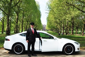Click to view details and reviews for One Hour On Road Tesla Supercar Passenger Ride.