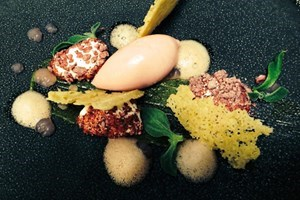 image of Tasting Menu and Bubbles at Michelin Starred Restaurants UK Wide