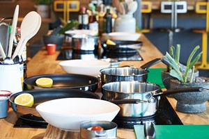 Get Stuck into Steak Class at The Jamie Oliver Cookery School
