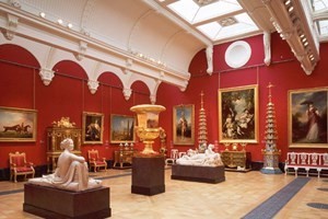 Click to view details and reviews for Buckingham Palace Queen's Gallery With Afternoon Tea For Two At Hilton Park Lane.