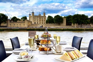 Click to view details and reviews for Bateaux Afternoon Tea Cruise On The Thames For Two.