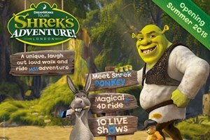 Click to view details and reviews for Visit To Shreks Adventure And Two Course Meal At Planet Hollywood For Two.