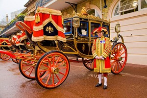 Click to view details and reviews for Buckingham Palace State Rooms And Royal Mews With Meal For Two At Hilton Park Lane.