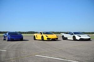 image of Ultimate Triple Lamborghini Driving Experience