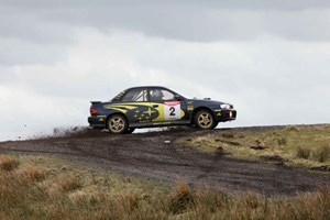 Rally Driving Experience at Knockhill.