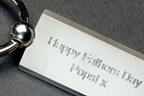 Rectangular Personalised Keyring