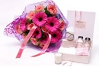 Wild Rose Bathing Box and Bouquet