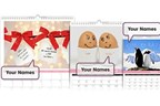 Me and You Personalised Calendar