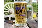 Personalised 'Love From' Beer Glass Tankard