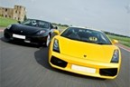 Triple Supercar Driving Blast with Passenger Ride