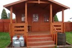 Two Night Stay in a Cowboy Camping Shack at Pinewood Holiday Park