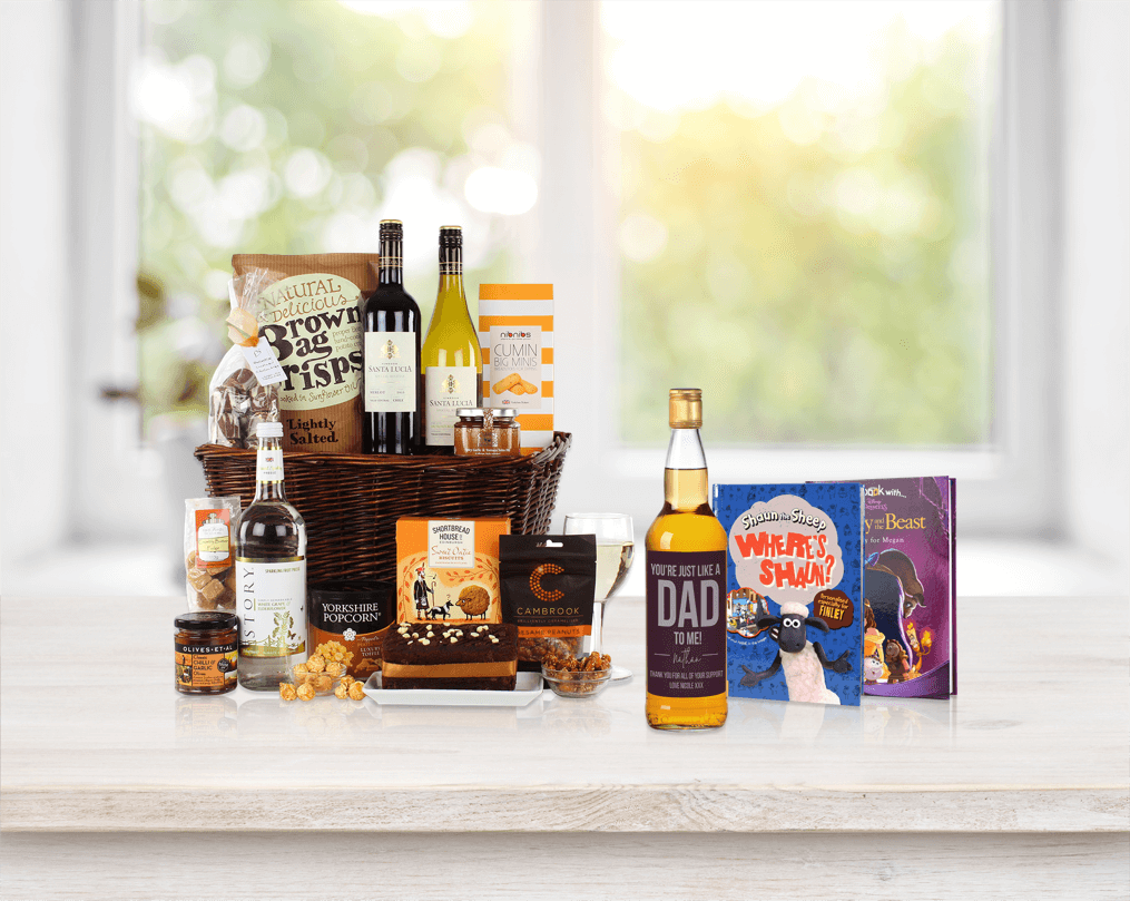 Hamper and Personalised books