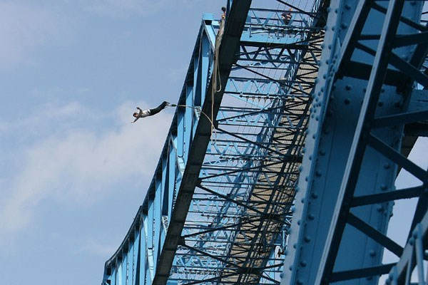 Transporter Bridge Bungee Jump Special Offer