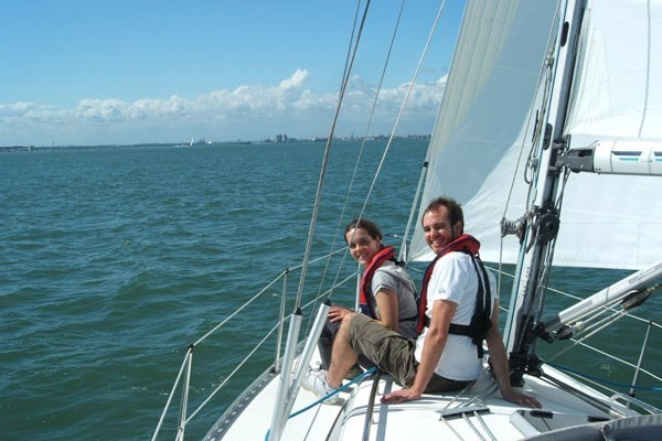 Hands On Half Sailing Day For Two