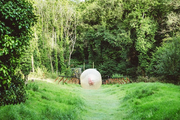 Harness Zorbing for Two in London