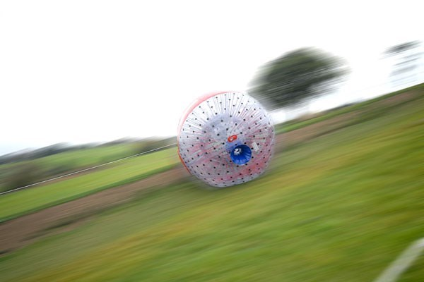 aqua zorbing for three special offer from buyagift