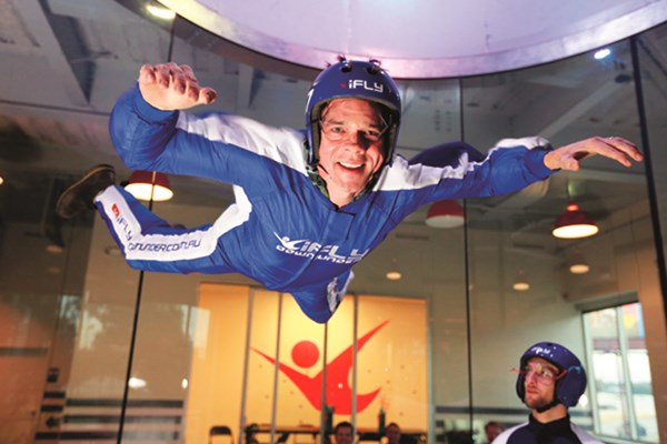 iFLY Indoor Skydiving Experience for Two - Peak Time