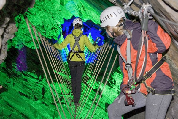 Zip World Caverns For Two