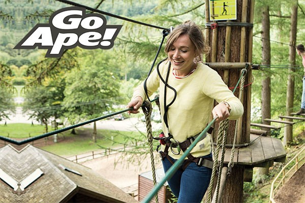 Tree Top Adventure for One Adult at Go Ape