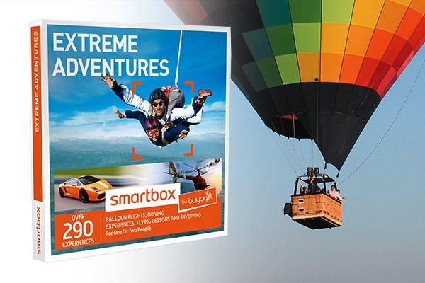 extreme adventures smartbox by buyagift from buyagift. Black Bedroom Furniture Sets. Home Design Ideas