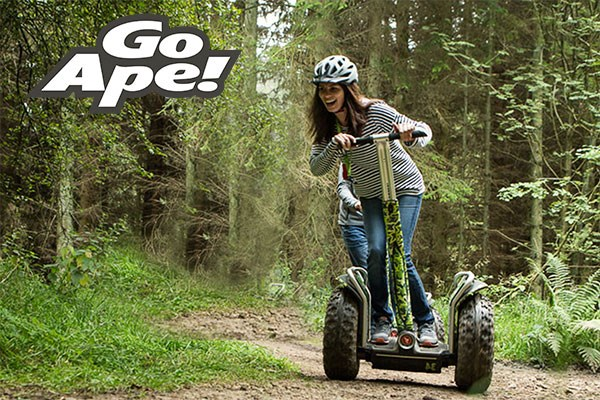 Forest Segway Experience for One at Go Ape