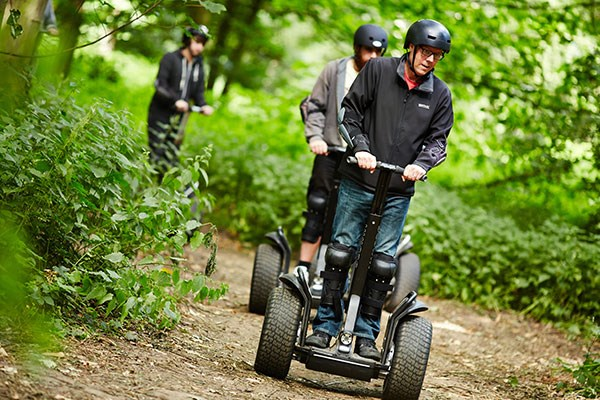 60 Minute Segway Adventure for Two with Three Course Meal at Zizzi