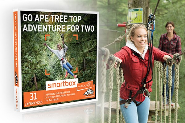 Go Ape Tree Top Adventure - Smartbox by Buyagift