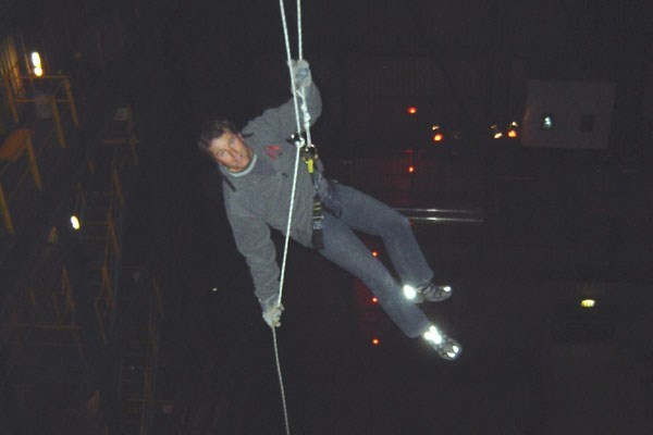 Indoor Abseiling Experience