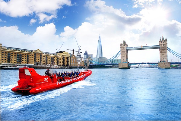 Thames Rockets Powerboating Experience for Two
