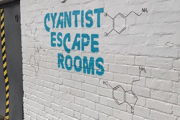 Escape Room For Four at Cyantist Bournemouth