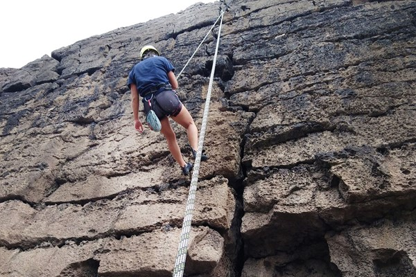 Outdoor Climbing for Two with Savage Adventures