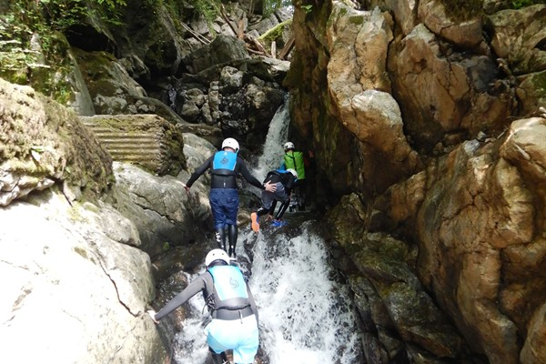 Gorge Walking for Two with Savage Adventures