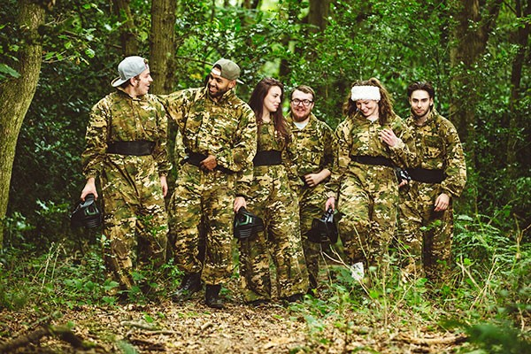 Forest Laser Tag for Four