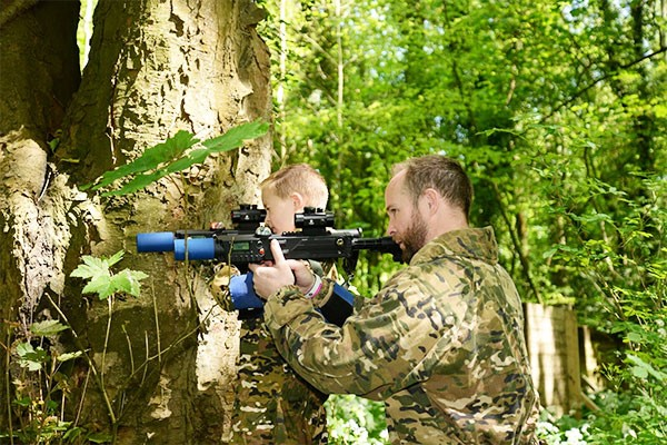Forest Laser Tag for Two