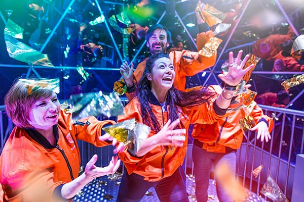 Crystal Maze LIVE Experience with Cocktails for Two, London
