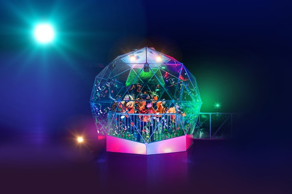 The Crystal Maze LIVE Experience with Souvenir Crystal for Two in London – Weekdays