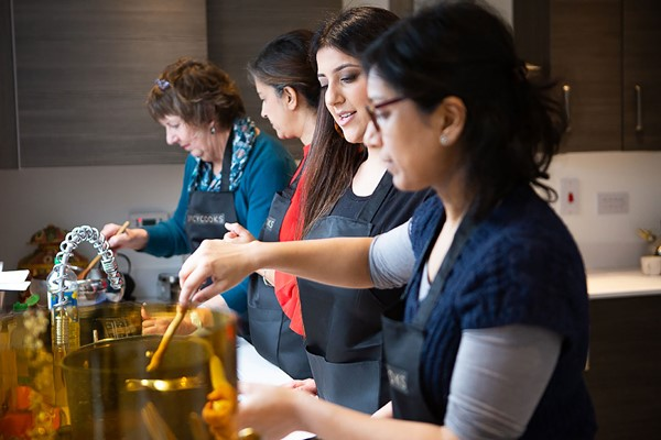 Vegetarian Indian Masterclass at Spicy Cooks