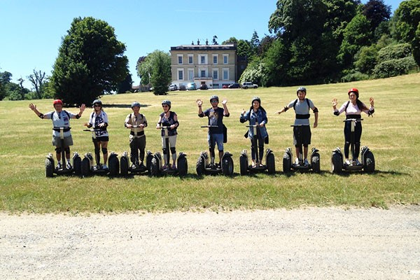 Segway Tutorial and Safari for Two at Devon Country Pursuits