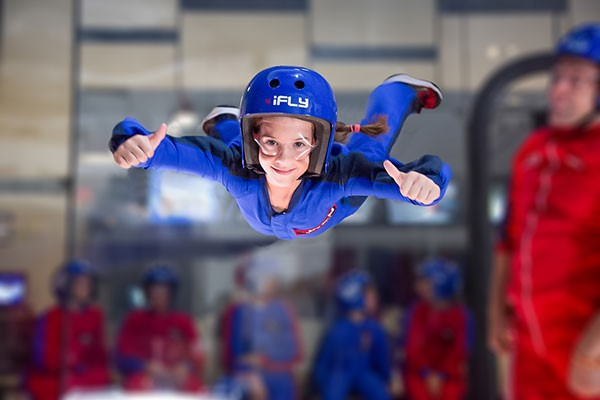 Family Indoor Skydiving   Weekround